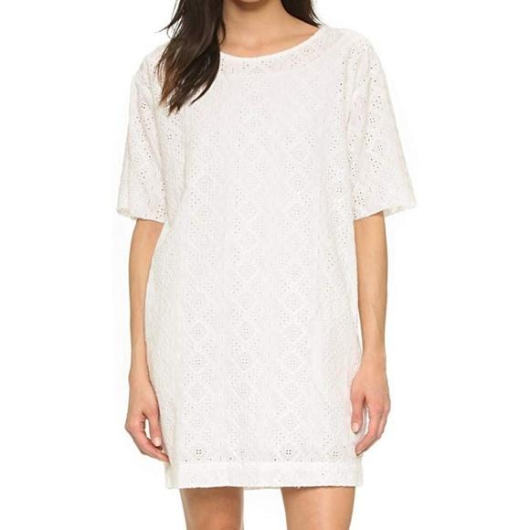 1a21688036 NWT current elliott eyelet t-shirt dress